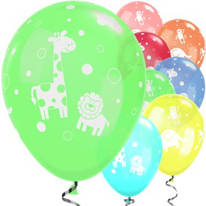 Cute & Cuddly Jungle Animals Balloons - 11
