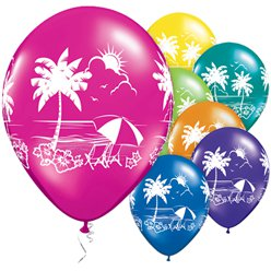 Tropical Vistas Balloons - 11
