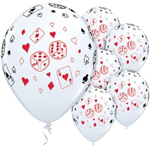 Cards & Dice Balloons - 11