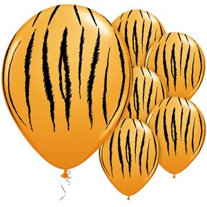 Tiger Stripes Assorted Balloons - 11
