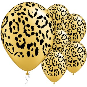 Leopards Spots Assorted Balloons - 11