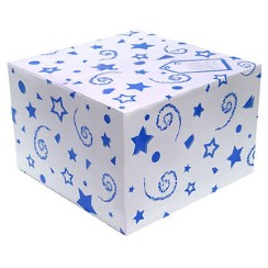 Blue Balloon Box
