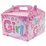 Baby Girl Balloon Box