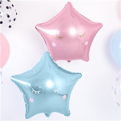 Lashes Cute Face Balloon Stickers