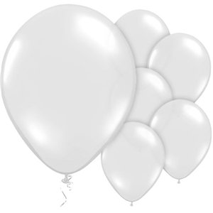 Crystal Clear Balloons - 12'' Latex
