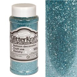 Light Blue Balloon Glitter - 100g