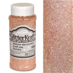 Rose Gold Balloon Glitter - 100g