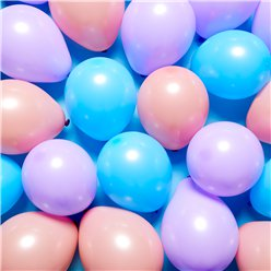 "Pastel Mini Balloons Pack - 5"" Latex"