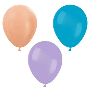 Pastel Mini Balloons Pack - 5