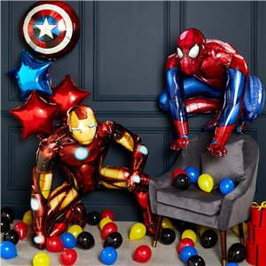 Superhero Mini Balloons Pack - 5
