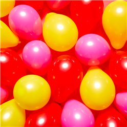 "Minnie Mouse Mini Balloons Pack - 5"" Latex"