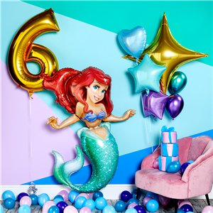 Mermaid Mini Balloons Pack - 5