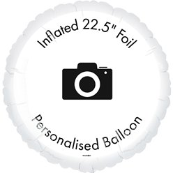 Inflated Personalised Balloon