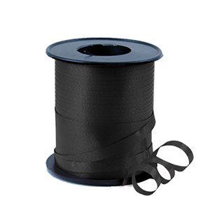 Black Curling Balloon Ribbon - 91m
