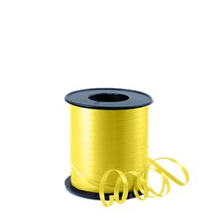 Yellow Curling Balloon Ribbon - 91m