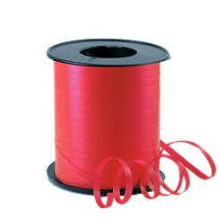 Red Curling Balloon Ribbon - 91m