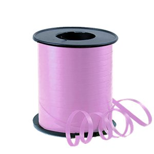Pink Curling Balloon Ribbon - 91m