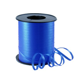 Blue Curling Balloon Ribbon - 91m