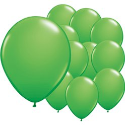 Spring Green Mini Balloons - 5