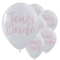 'Team Bride' Hen Party Balloons - 12