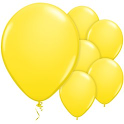 Yellow Balloons - 11'' Latex