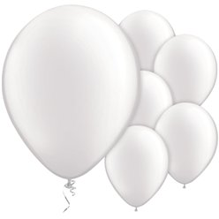 Pearl White Balloons - 11'' Latex