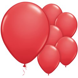 Red Balloons - 11'' Latex
