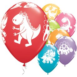 Cute & Cuddly Dinosaurs Balloons - 11