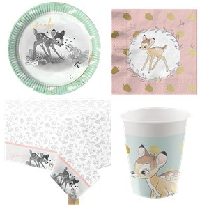 Bambi Party Pack - Value Pack For 8