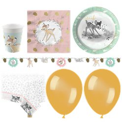 Bambi Party Pack - Deluxe Pack For 16