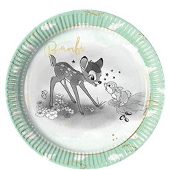 Bambi Paper Plates - 23cm