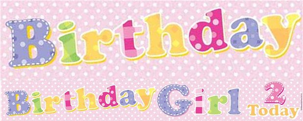 Pink 2nd Birthday Girl Foil Banner - 2.6m