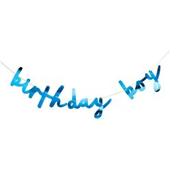 Birthday Boy Letter Banner - 2m