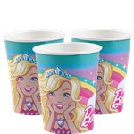 Barbie Dreamtopia - 250ml Paper Party Cups