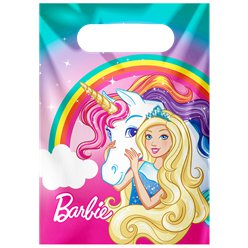 Barbie Dreamtopia Plastic Party Bags
