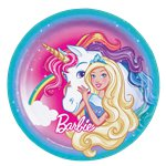 Barbie Dreamtopia - 23cm Paper Party Plates