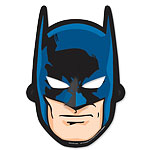 Batman Party Masks - Card