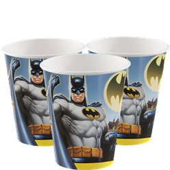 Batman Paper Party Cups - 255ml
