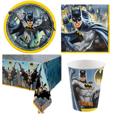 Batman Party Pack - Value Pack for 8