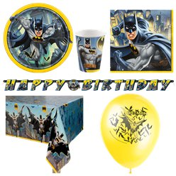Batman Party Pack - Deluxe Pack for 8
