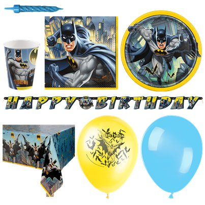 Batman Party Pack - Deluxe Pack for 16