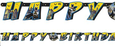 Batman Large Jointed Letter Banner
