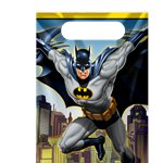 Batman Party Bags - Plastic Loot Bags
