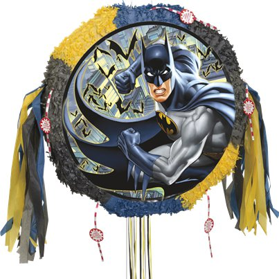 Batman Drum Pull Pinata