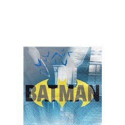 Batman Beverage Napkins - 25cm