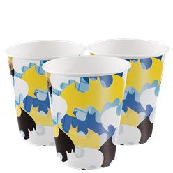 Batman Paper Party Cups - 266ml