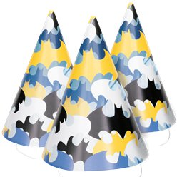 Batman Paper Party Hats