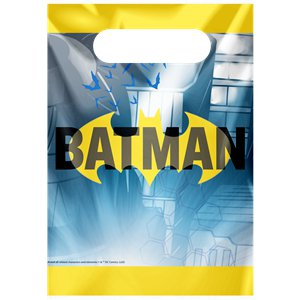 Batman Plastic Party Bags