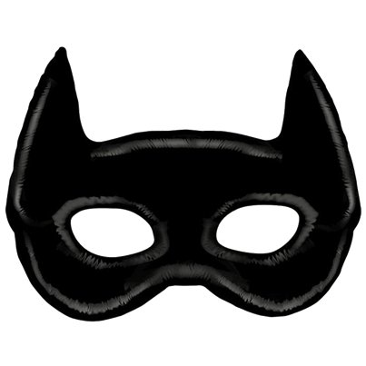 "Bat Mask Supersize Balloon - 45"" Foil"