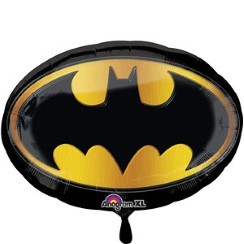 "Batman Supershape Emblem Balloon - 27"" Foil"